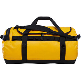 The North Face Base Camp Travel Luggage L yellow